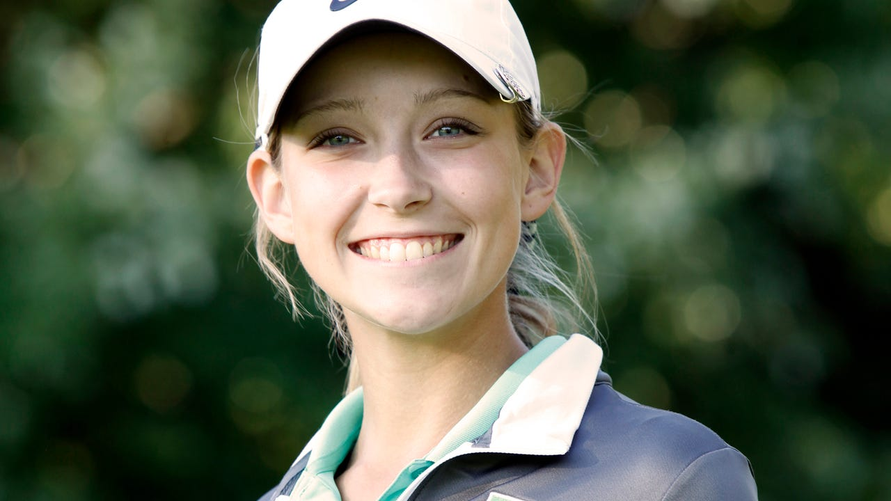 Floyd Central golfer Lauren Decker was chosen as the Courier-Journal Athlete of the Week after earning medalist honors with a 72 in the sectional tournament.