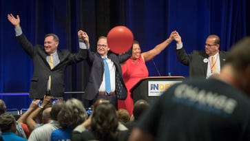 Indiana Democrats target GOP marriage platform, focus on unity at state convention