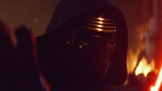 """Kylo Ren is a villain in the new """"Star Wars"""" movie."""