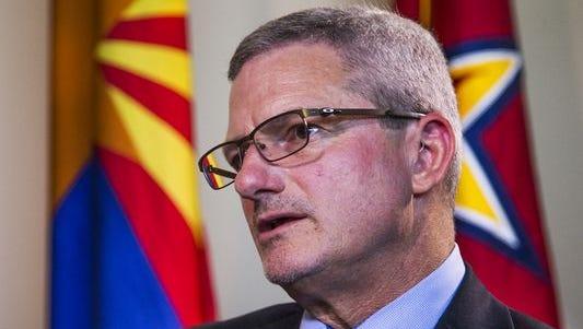 Arizona Department of Economic Security Director Tim Jeffries