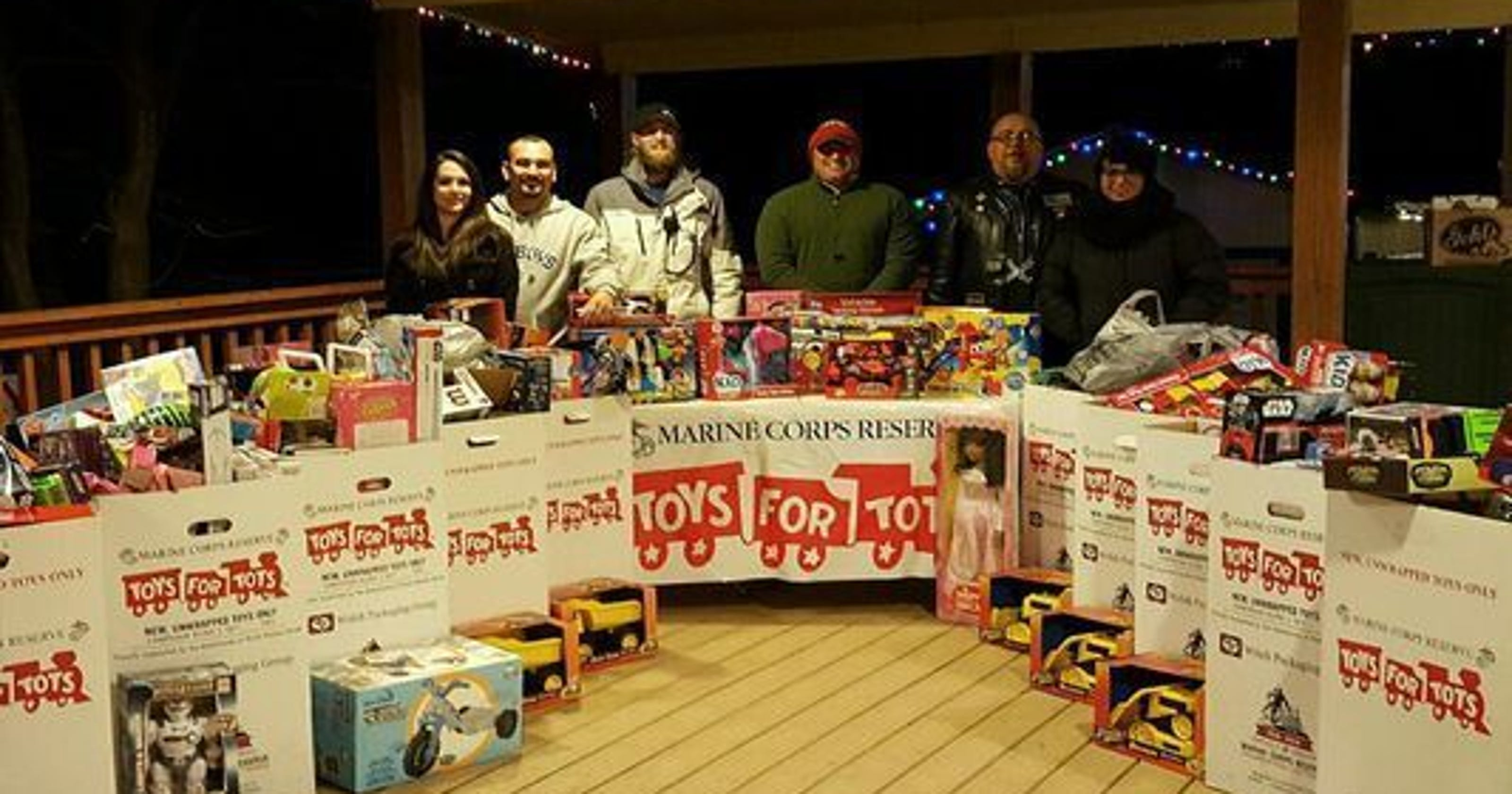 Motorcycle Club Staging Fundraisers For Tots At Rally
