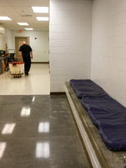 The San Juan County Adult Detention Center medical facility is pictured on Friday inside the detention center in Farmington.