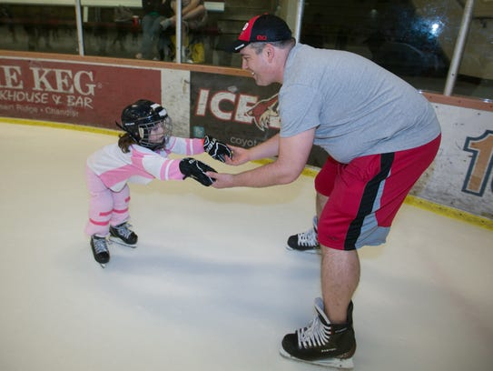 Ice Den | Kids can skate around the venue the Phoenix