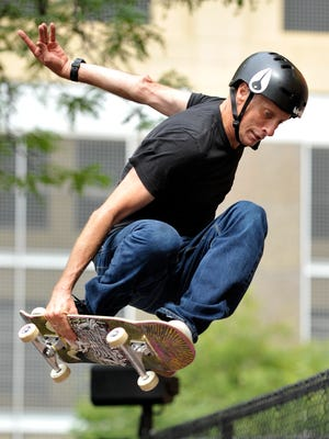 Skateboard legend Tony Hawk will be part of the Pathway to Paris concert Sept. 16.
