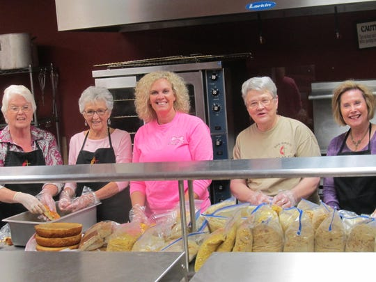 The Women's Circle of Oak Grove United Methodist Church started the annual Thanksgiving Dinner in 1975.