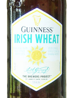 Guinness Irish Wheat, from Guinness & Co. in Dublin, is 5.3% ABV.