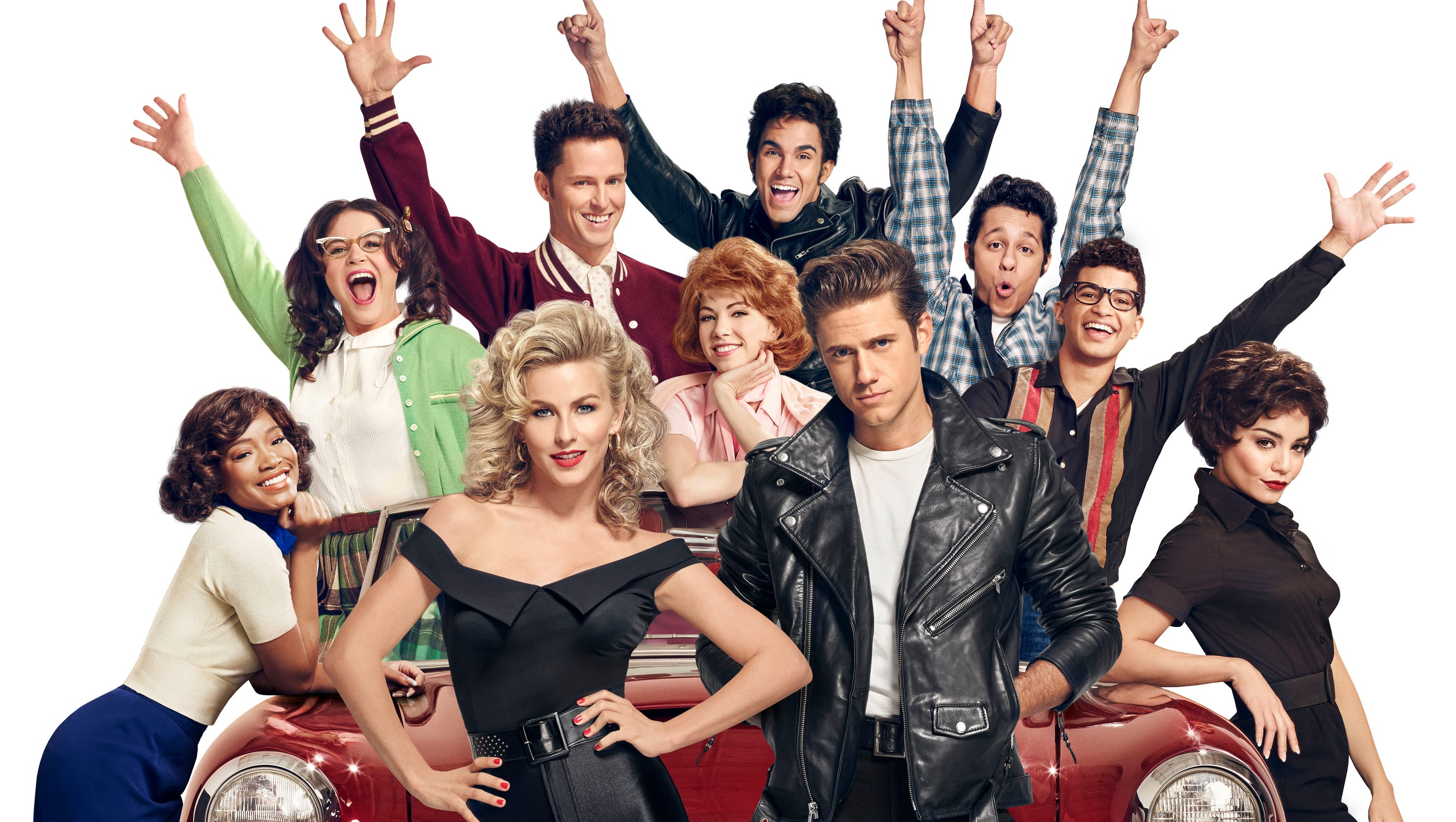 Fox s grease is the word with a live audience