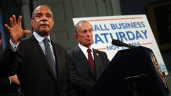 In this file photo, American Express CEO Kenneth Chenault,