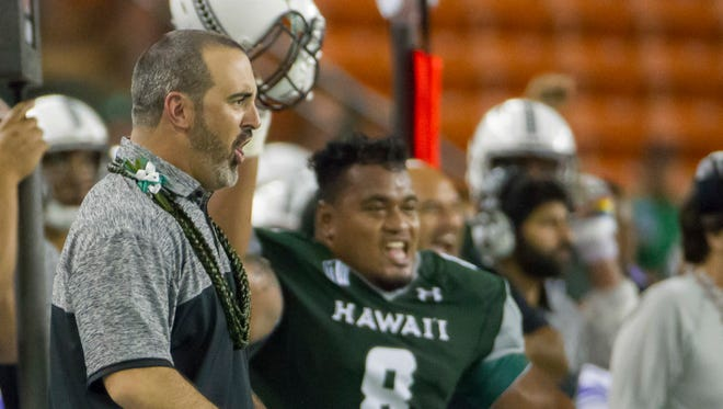 Hawaii head coach Nick Rolovich and his staff had the upper-hand on his former boss, Brian Polian, and the Wolf Pack.