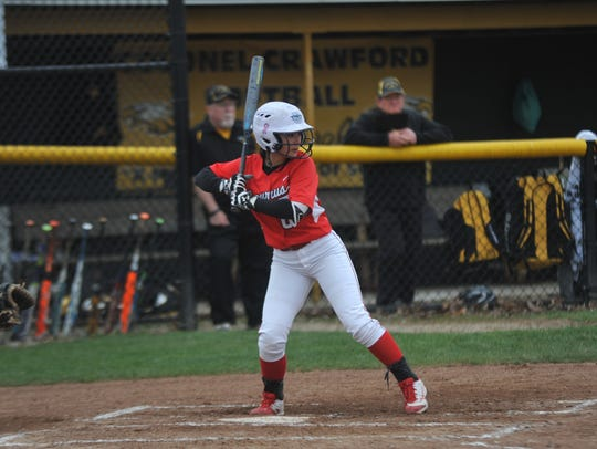Bucyrus' Jade Torres knocked in the winning RBI.