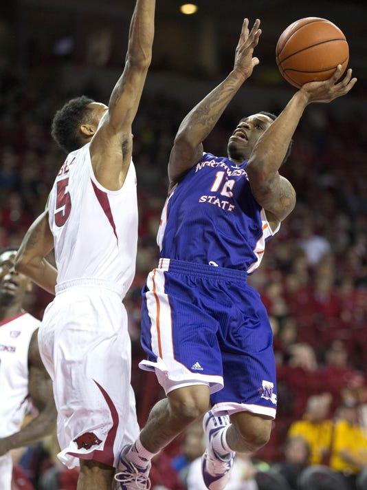 NCAA Basketball: Northwestern State at Arkansas
