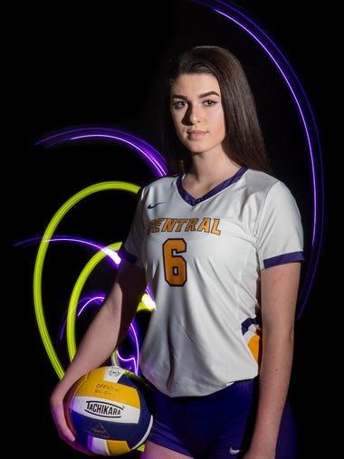 Kylee Quigley, Fort Pierce Central High School, all-area