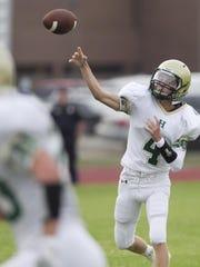 Howell quarterback Brett Chaperon completed three passes,