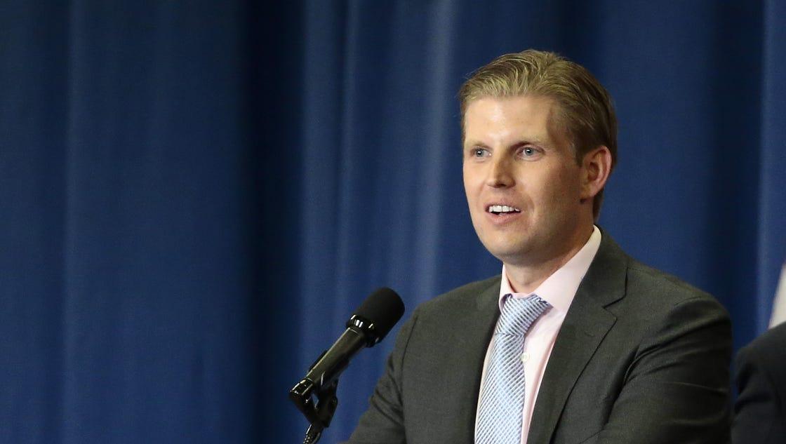 Eric Trump tweets wrong photo for Pensacola rally