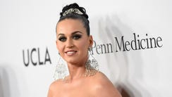 Katy Perry attends the Sean Parker and the Parker Foundation