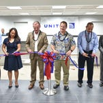 A ribbon cutting event was held for the new Tumon Central Air Terminal (TCAT) at T Galleria on March 30. A partnership between T Galleria and United Airlines, the TCAT will provide an alternate location to check-in baggage for either tourists or local United travelers.