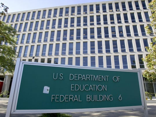 The US Department of Education building
