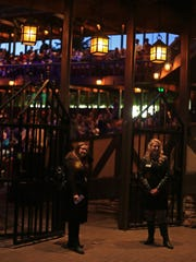 "The audience for Southern Utah University's production of ""Hamlet"" waits for the show to begin on Saturday, Oct. 10."
