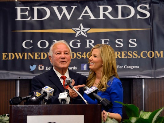 Edwin Edwards, Trina Scott Edwards