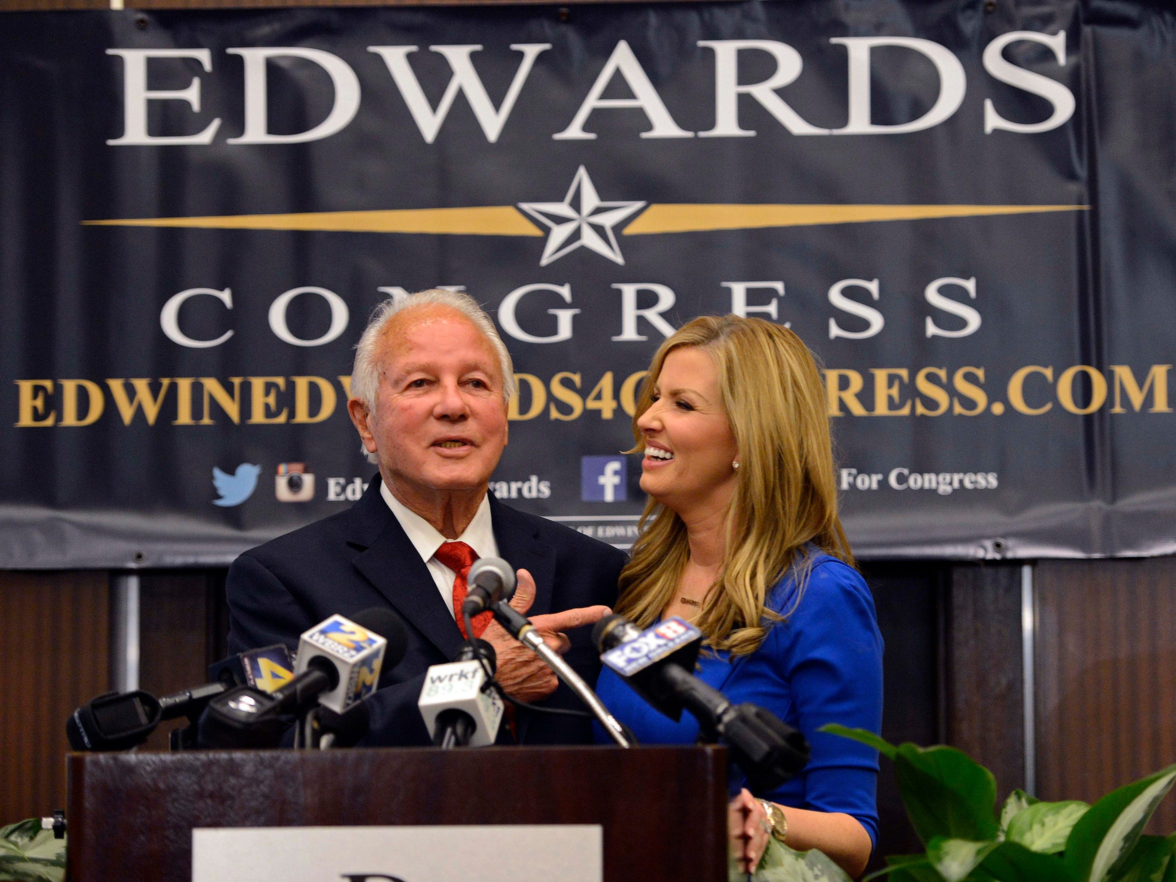 Edwin Edwards made headlines in 2014 when he ran for