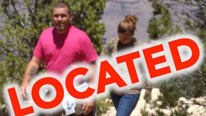 National Park Service investigators have found the people accused of vandalizing rock in Grand Canyon National Park.