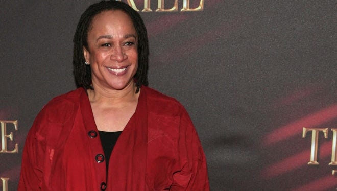 """Actress S. Epatha Merkerson attends a Broadway opening in 2013. Born in Saginaw, Mich., she is best known for her work in the TV series """"Law & Order."""""""