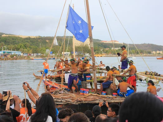 Canoes from Chuuk, Palau, Yap, and the Marshall Islands