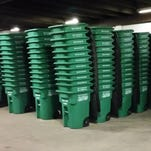 City delivers new recycling carts