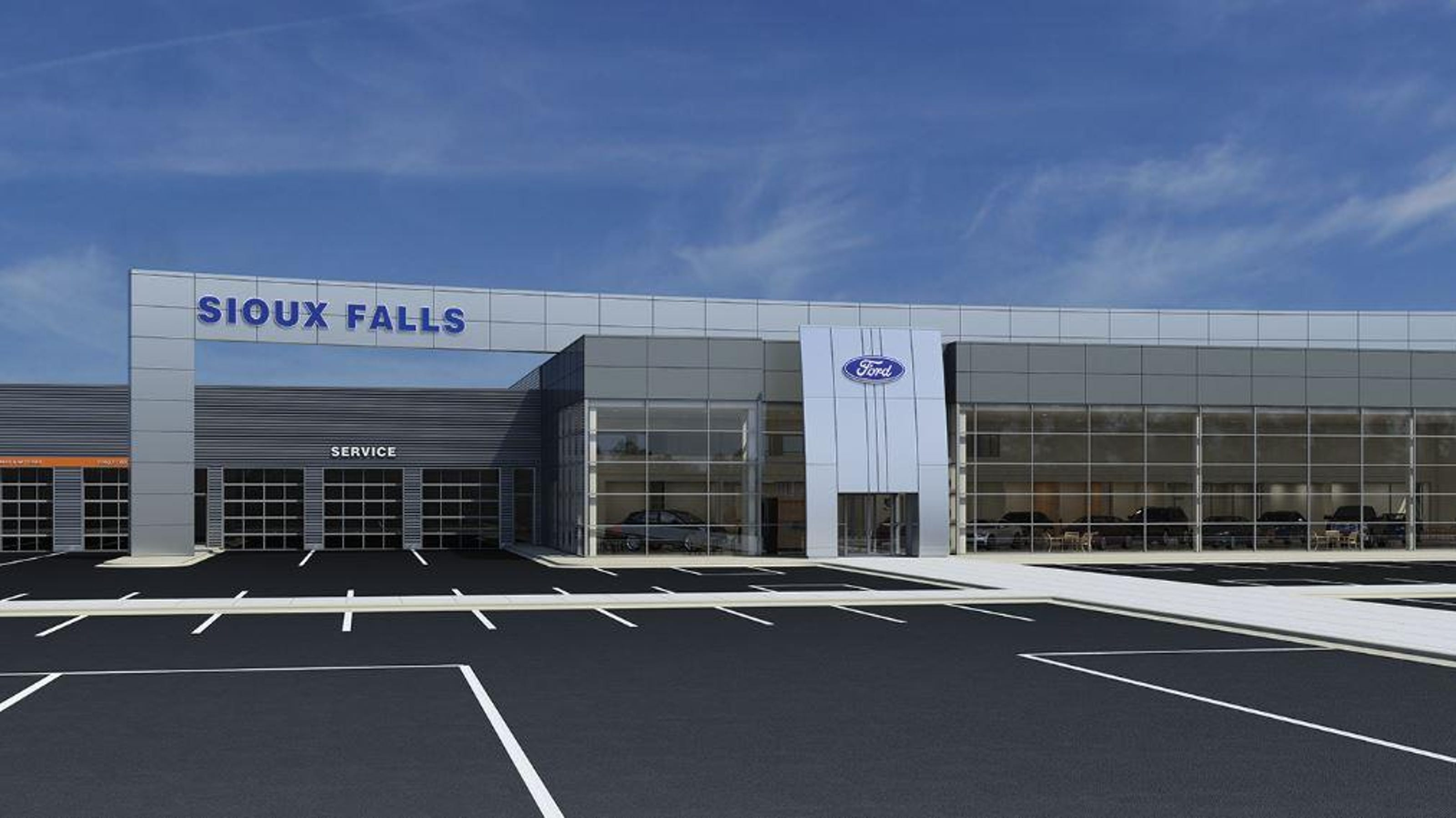 Sioux Falls Ford >> Sioux Falls Ford Lincoln Starts Work On New Site