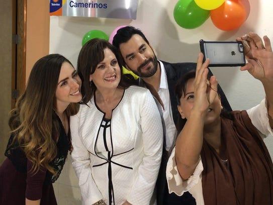 Ariadne Díaz, David Zepeda, Zaide Silvia Gutiérrez