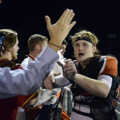 Collin Mailman finished his football career at York