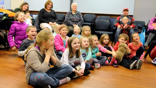 Family Story Time will be held several times in January at Ida Rupp Public Library.
