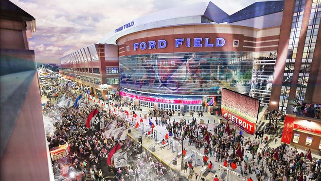 Ford Field is now the preferred site for a professional soccer team, according to the group spearheading the effort to bring a team to the city.