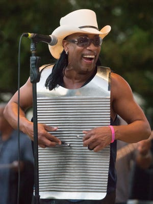 David Rubin, aka Rockin' Dopsie Jr., is among the nominees for Scrubboard Player of the Yeat at the Zydeco Music Awards.