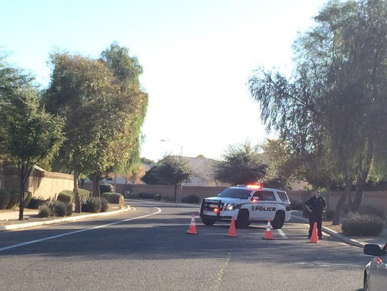 Glendale, Ariz., police are investigating a shooting