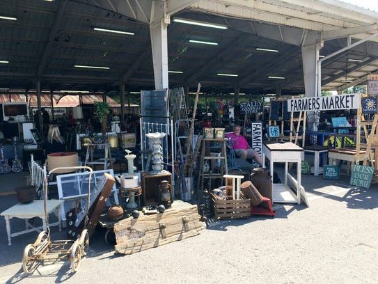 The monthly Flea Market at Fairgrounds Nashville is