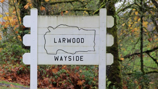 Larwood Covered Bridge and Wayside Park is about a 45 to 50 minute drive from Salem.