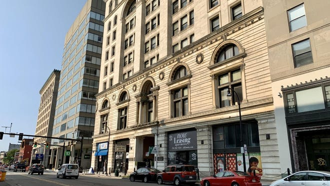 The Commerce Building, 340 Main St., Worcester, is slated to be redeveloped into apartments.