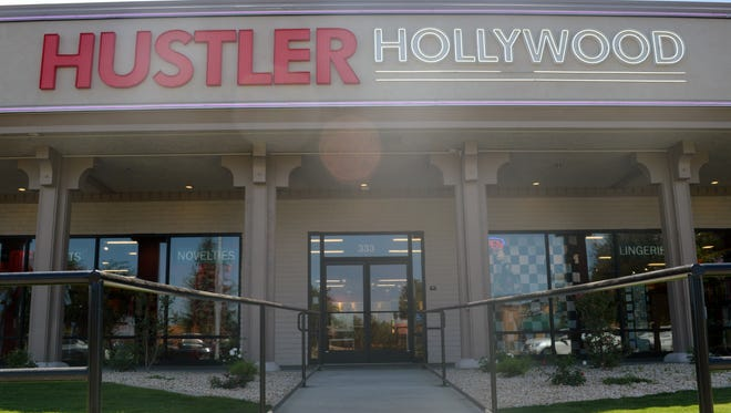 Hustler Hollywood store in Fresno is the franchise's 23 store to open. It offers a variety of items including lingerie, Halloween costumes, apparel and other items.