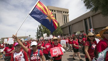 Here are the Arizona schools that will be closed Tuesday for #RedForEd walkout