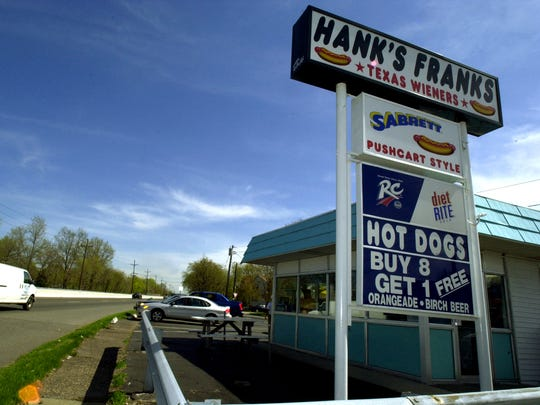 Hank's Franks, somewhat of a landmark on eastbound Rt. 46 in Lodi