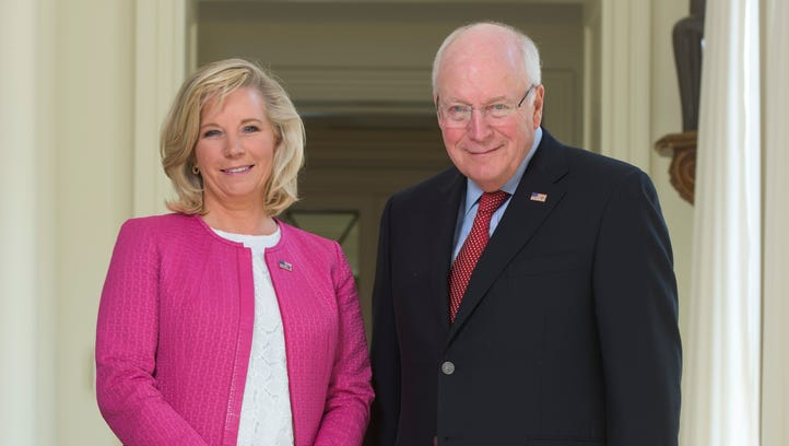 Former State Department official Liz Cheney and former