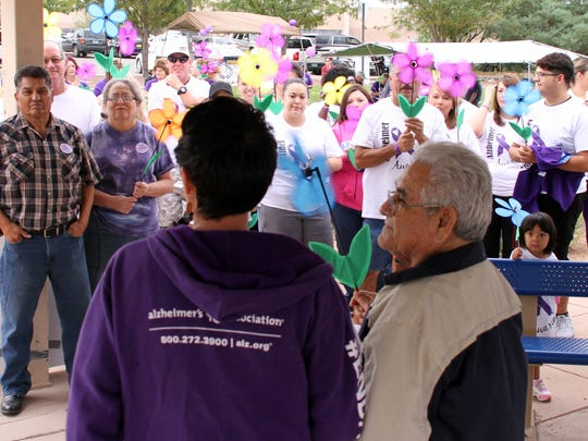 "Over 200 Deming community members took part in ""The Walk to End Alzheimer's"" back in 2018."