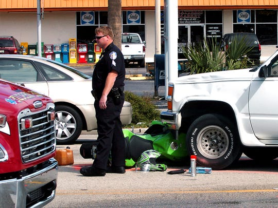 On March 19, 2007, Jose Bianchi, 42, was killed during a motorcycle accident March 12 in Fort Pierce on U.S. 1. He left behind a wife, Maria, and children ages 13, 12 and 6. Fort Pierce Sgt. William Hall was on scene the day of the accident.