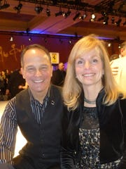 This year's NAIAS Chairman and Lou LaRiche Chevrolet in Plymouth Owner Scott LaRiche and his wife, Dawn, kicked off the week of NAIAS Industry and Press Previews at the Gallery party on Saturday night.