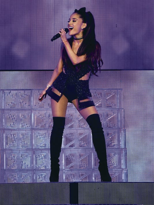 Ariana Grande and Prince Royce will perform at 7:30 p.m. Oct. 15 at the El Paso County Coliseum, in El Paso. Tickets range in price from 27 to 67 plus fees. Tickets go on sale at 10 a.m. Saturday and are available for purchase through Ticketmaster outlets, www.ticketmaster.com and 800-745-3000.
