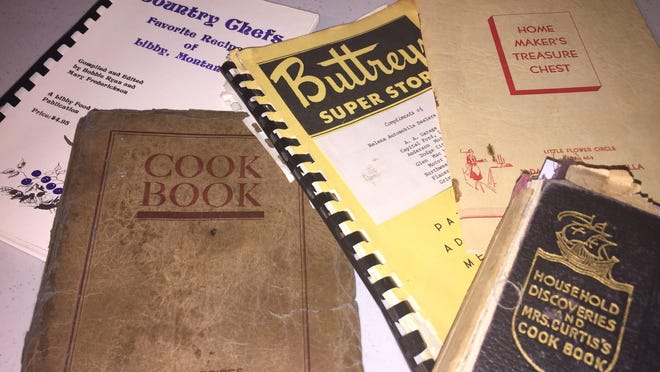Historic cookbooks from across the state are part of the archives of the Montana Historical Society.