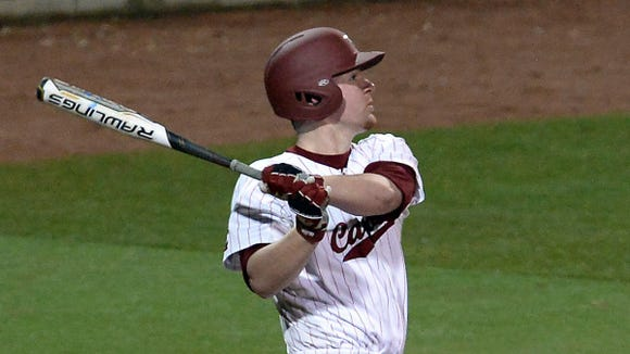 North Buncombe alum Alex Destino is a freshman for the South Carolina baseball team.