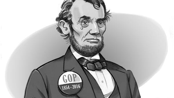 CARTOON: Lincoln lament