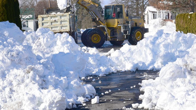 It took the borough days to make streets passable after Winter Storm Jonas in January.